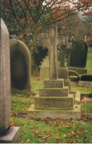 Flack Family Grave in Burnley Cemetery