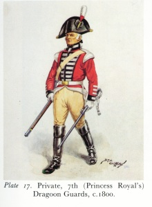 7th Dragoon Guards Uniform