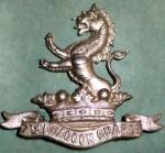 7th Dragoons Badge
