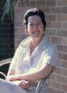Barbara Flack  in Lidcombe NSW c1966