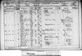 1891Census-Matthias and Margaret Hayward-