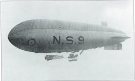 RNAS Longside airship used for anti-submarine patrols in the North Sea