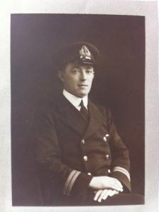 Naval Surgeon Lt Bertram Flack