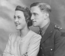 1942 HED & BDF Wedding Day